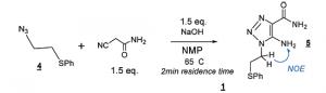 Triazole synthesis at Wyeth